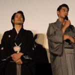 松山ケンイチ(左)&東出昌大(右) at 聖の青春舞台挨拶