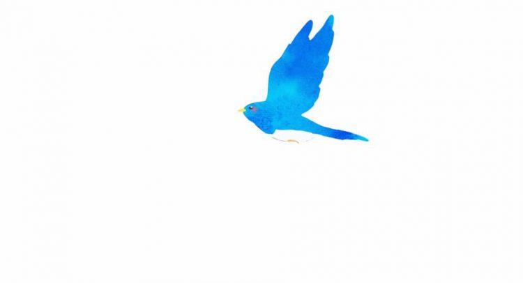 と 鳥 リズ 青い